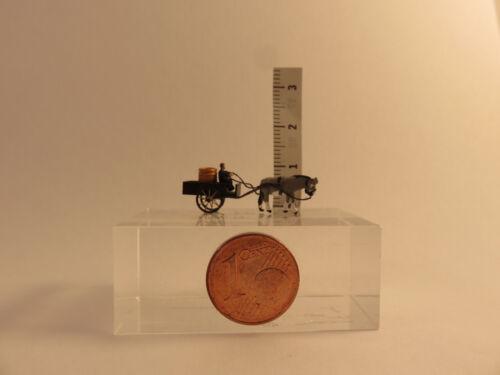 1:220 Eselskarren mit Fassbeladung Figur Spur Gauge Scale Z GE03