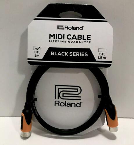 3/' Roland RMIDI-B3 Black Series MIDI Cable