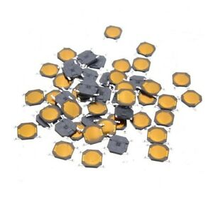 50pcs-Tact-Switch-SMT-SMD-Tactile-membrane-switch-PUSH-Button-SPST-NO-4x4x0-8mm