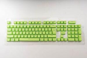 Details about Doyu Green Doubleshot PBT Translucent 104 KeyCap backlit for  Cherry MX Keyboard