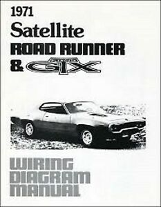 s l300 1971 plymouth gtx road runner belvedere satellite wiring diagrams