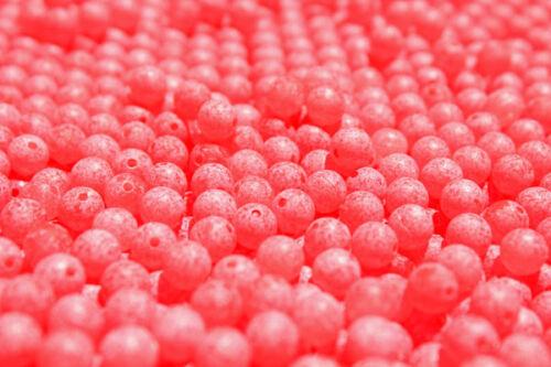 SCRAMBLED SUPER UV RED TRICK EM BEADS TROUT STEELHEAD SALMON PK SZ 8 10 12 mm