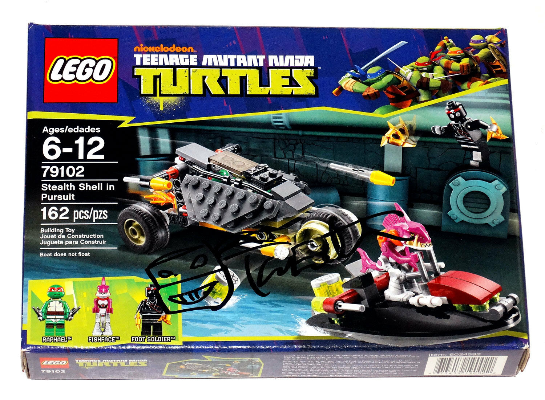 Tmnt Lego Firmado Por Kevin Eastman Stealth Shell In Pursuit  79102 Misb C/coa