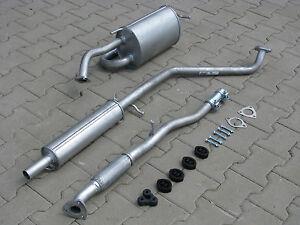 Silencer For Chevrolet Matiz 0 8 1 0 2005 2010 Exhaust System F091 Ebay