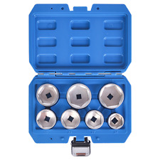 Mofeez Oil Filter Cap Wrench Metric 10-Piece Socket Set Tool Kit 24mm to 65mm...