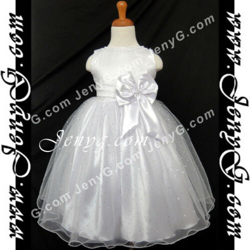 #SBW8 Baby Infant Flower Girl Wedding Holy Communion Pageant Birthday Gown Dress