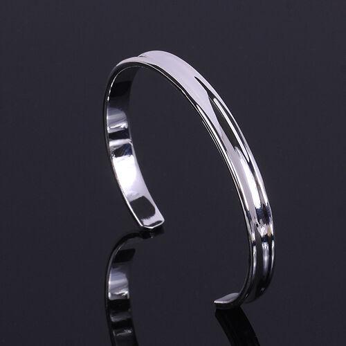 Wholesale Fashion Jewelry 925Sterling Silver 18K Gold Women Men Silver Bracelet
