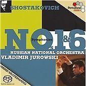 1 of 1 - Symphonies No. 1 And No. 6 (Jurowski) [Sacd/CD Hybrid], , Good Hybrid SACD, SACD