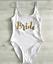 Ladies-BRIDE-SQUAD-Swimsuit-Bridesmaid-Swimming-Bathing-Costume-Hen-Party-Bridal miniatura 11