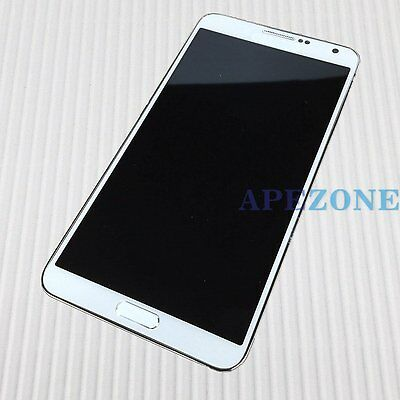 White LCD Display Touch Screen Digitizer Assembly for Samsung Note 3 N900 N9000
