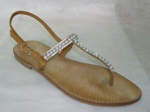 sandalo infradito tipo positano made in italy artigianale in vera pelle