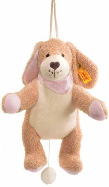 Baby Steiff Musical Dog Puppy ideale NUOVO LETTINO CAMERETTA CARROZZINA regalo 238079 Teddy Bear