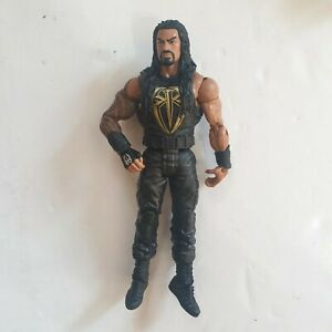 WWE-WWF-Roman-Reigns-2013-Mattel-Action-Figure-The-Shield-The-Big-Dog-034-Gold-034