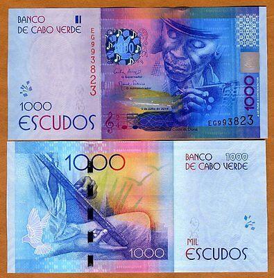 SPECIMEN: Cape Verde UNC Escudos 1000 1,000 P-New 2014 2015