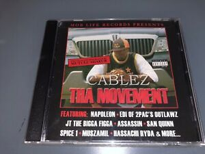 CD-CABLEZ-The-Movement-2003-Mob-Life-Records-Sealed-Bay-Area-Rap-G-Funk