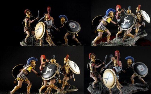 The Enemies   Athen Vs Sparta V b.c. 54mm