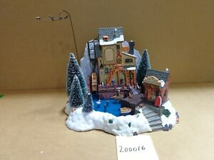 Lemax Village Collection Oak Creek Grist Mill #36321 As-Is 200016