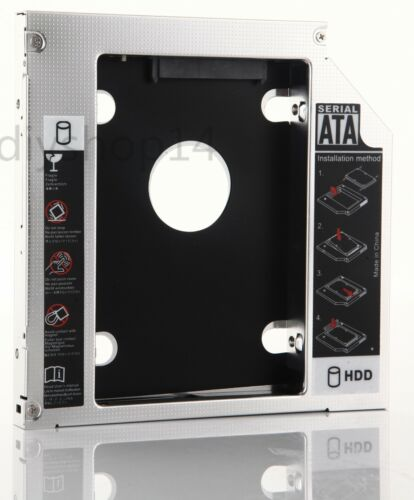 SATA 2nd Hard Drive Caddy for Dell Inspiron 15 15R N5050 5520 7520 N5040 M5040