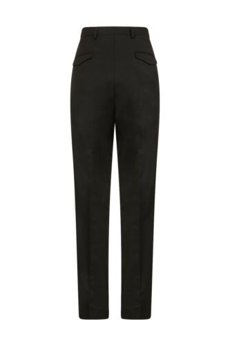 Ex M/&S Mens Tailored Suit Trousers Flat Front Formal Office Work Marks /& Spencer