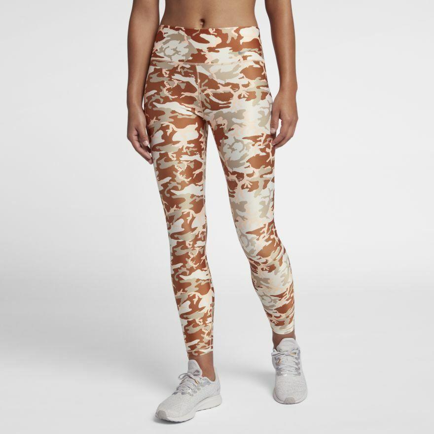Nike Dry Womens Medium M Camo