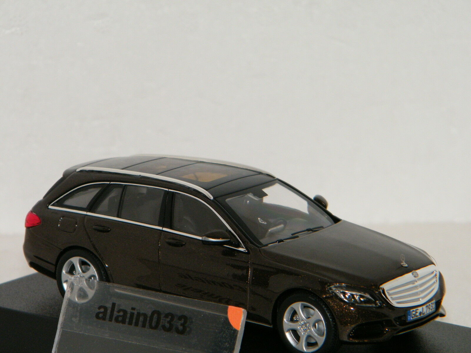 Mercedes-Benz C-Class Estate 2014 marron metallic NOREV 1 43 Ref 351322