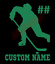 Custom-Hockey-Player-Number-Name-Vinyl-Decal-Window-Sticker-Car thumbnail 3