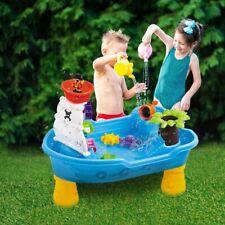 Children Outdoor Kids Sand Water Table Beach Tool Toy Set Summer Garden Fun Game