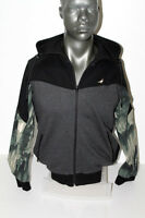 Staple Feather Camo Zip Up Hoodie 1509h2891