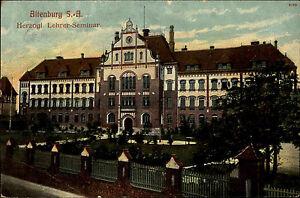 Altenburg-Sachsen-Anhalt-AK-1908-Hezogliches-Lehrer-Seminar-Verlag-Havenstein