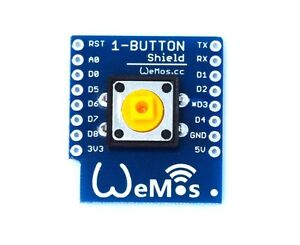 1PCS 1-Button Shield for WeMos D1 mini button NEW K9