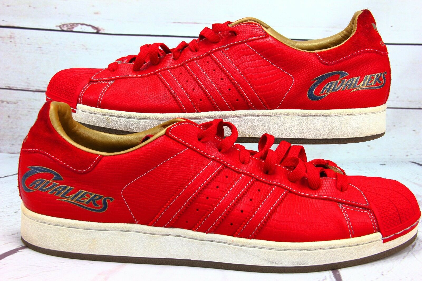 Adidas  Superstar 1 Cleveland Cavaliers Men Shoes Comfortable