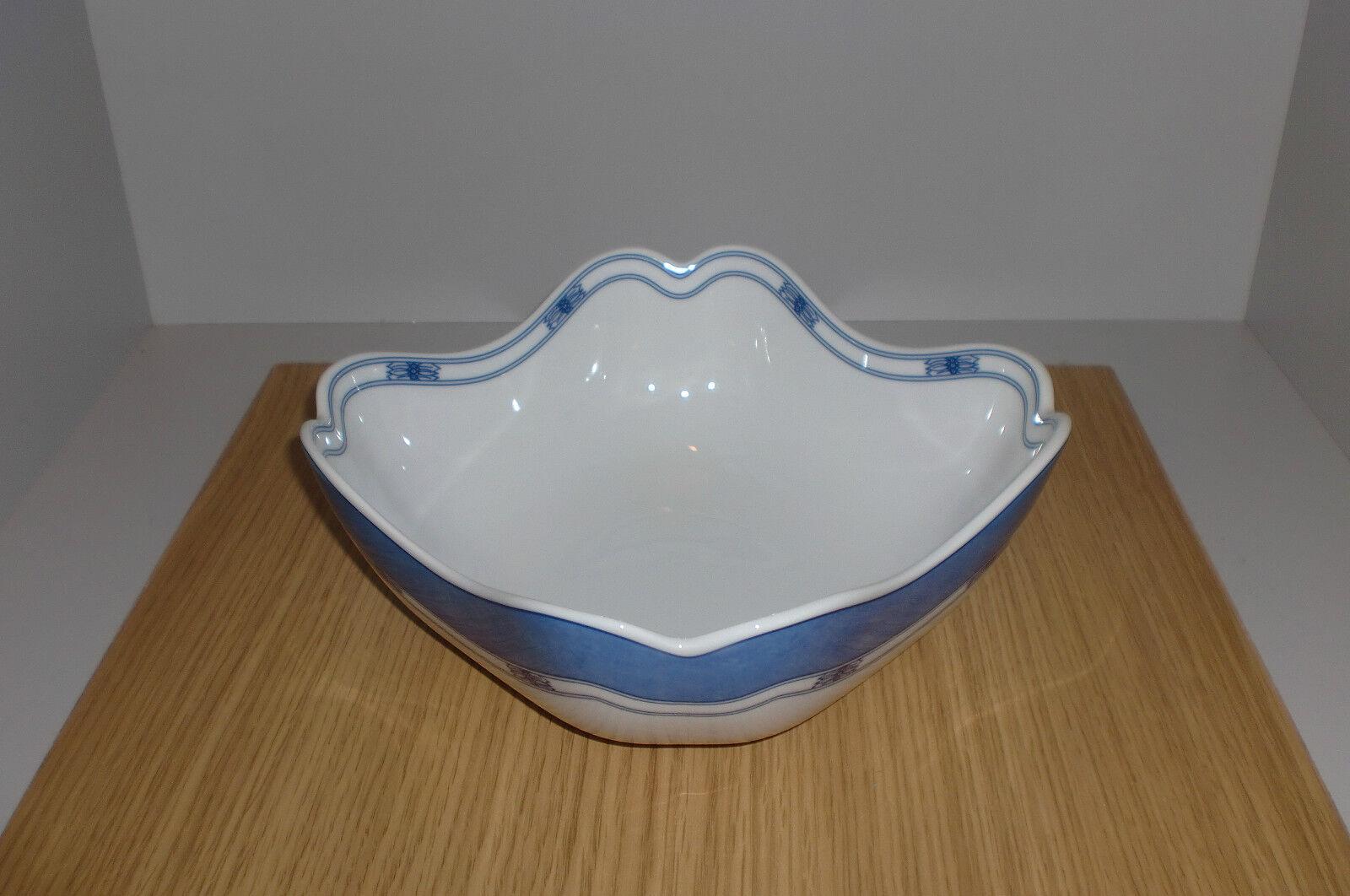 Hutschenreuther Scandic Blau  Schüssel 20 cm quadratisch   Qualität