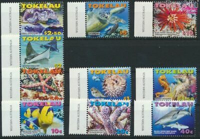 Tokelau 372-381 Unmounted Mint / Never Hinged 2007 Se complete Issue 9305157