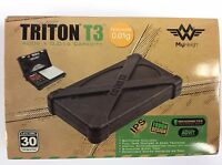 One - My Weigh Triton T3 400g X 0.01g Digital Scale W/rubber Case - Tough