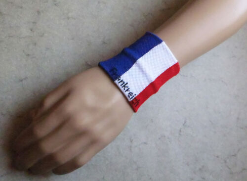 Bande poignet elastique éponge / wristband sweat band / sport & mode - France