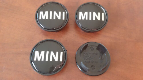 4 Tappi Coprimozzo MINI COOPER ONE SD D COUNTRYMAN Borchie Cerchi in Lega 54 mm