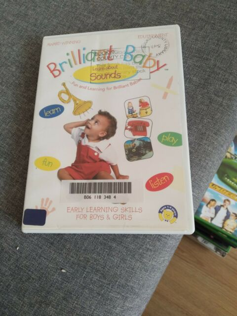 Brilliant Baby - Sounds DVD ex library copy