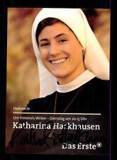Katharina Hackhausen Um Himmels willen Autogrammkarte Original # BC 65432