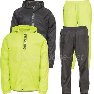 Caterpillar Rain Jacket or Pants Mens Typhoon Packable Waterproof ...