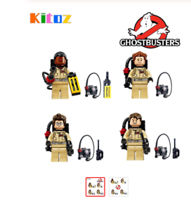 THE GHOSTBUSTER PS4 Xbox One Game Connor lot de 4 Mini Figures Use With Lego