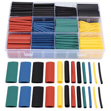 530 Pcs Box 21 Heat Shrink Tube Tubing Sleeving Wrap Wire Assorted Kit 8 Size