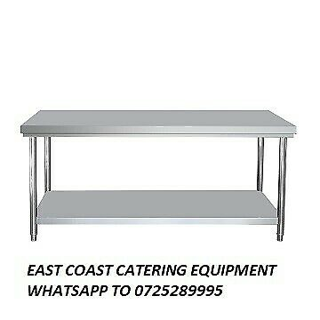 Stainless steel table 2 metre for sale