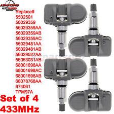 Tpms Tire Pressure Sensor For Dodge Ram 1500 Jeep Mopar Grand Cherokee 57l 30l Fits Dodge Ram 1500
