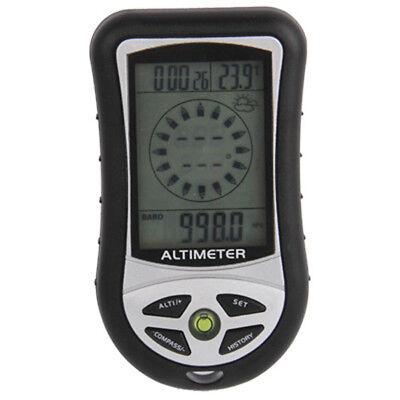 Metodico Altimetro Barometro Bussola Digitale 8 In 1 Per Caccia Alpinismo Escursionismo