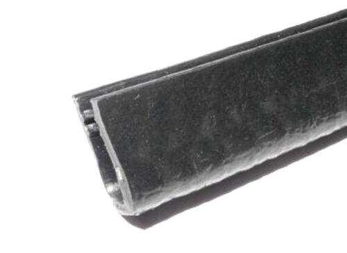 Kantenschutzprofil mit Stahleinlage für 4-6mm Bleche 10x16mm SCHWARZ