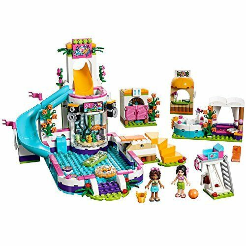 LEGO Friends Heartlake Summer Pool Set 41313 Toys Dolls Christmas Gift Girls NEW