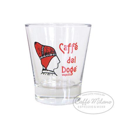 Caffe del Doge Espresso Glas - Wasser Glas - Shot Glas - Caffe Milano