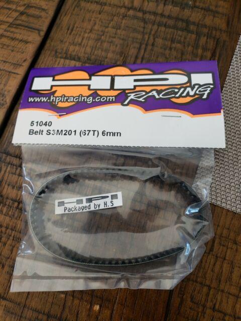 Vintage 1//8 hpi proceed rear wheel set 51110 rare nos