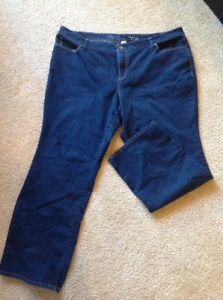 Women-039-s-Sonoma-Life-Style-Bootcut-Mid-Rise-Size-24W-pre-owned