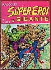 SUPEREROI GIGANTE RACCOLTA n. 3 - Editoriale CORNO (maggio 1984) [SC.4]